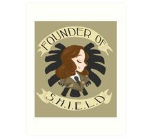 Founder of S.H.I.E.L.D Art Print