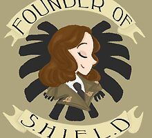 Founder of S.H.I.E.L.D by Shelby  Wolf