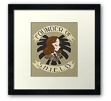 Founder of S.H.I.E.L.D Framed Print