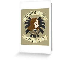 Founder of S.H.I.E.L.D Greeting Card