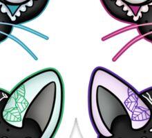 Pop Art Kitty Sticker