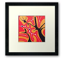 Abstracted Landscape Framed Print