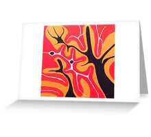Abstracted Landscape Greeting Card