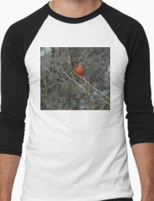 Pretty in Red. Men's Baseball ¾ T-Shirt