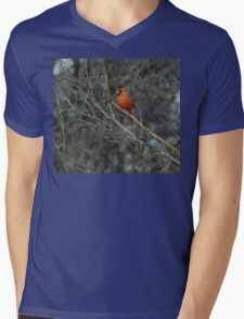 Pretty in Red. Mens V-Neck T-Shirt