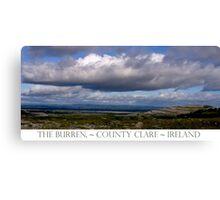 The Burren Sky Canvas Print