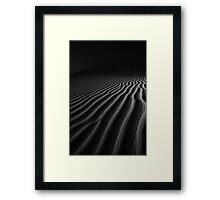 Desert Ripples Framed Print