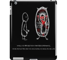 the reflection comic iPad Case/Skin