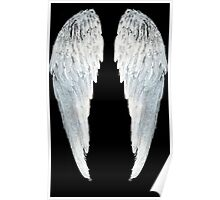 Large Angel Wings Poster