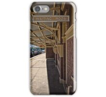Train Station in Goulburn/NSW/Australia (8) iPhone Case/Skin