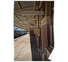 Train Station in Goulburn/NSW/Australia (8) Poster