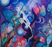Lunar Reach (Best viewed Large) by Cathy Gilday