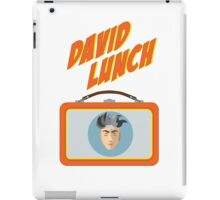 DAVID LUNCH by burro iPad Case/Skin