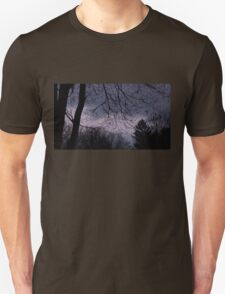 Mysterious Night Sky. T-Shirt