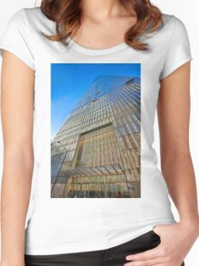 One World Trade Center Women's Fitted Scoop T-Shirt