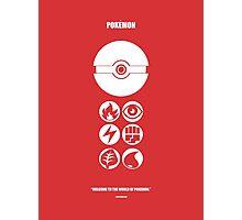 Pokemon: Welcome Photographic Print