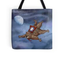 Phil Groundhog Superhero  Tote Bag