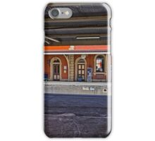 Train Station in Goulburn/NSW/Australia (9) iPhone Case/Skin