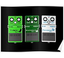 Dinosaur Effects Pedals Poster