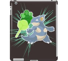 Earth Badge Nidoqueen iPad Case/Skin