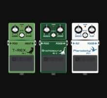 Dinosaur Effects Pedals by jezkemp