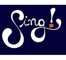 Sing! Photographic Print
