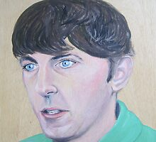 Peter Cook by Jo Conlon