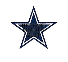 NFC East Champs  Photographic Print