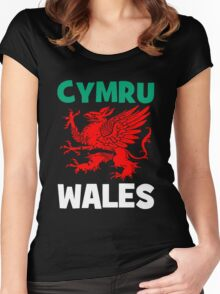 CYMRU-GRYPHON SEGREANT Women's Fitted Scoop T-Shirt