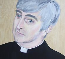 Dermot Morgan by Jo Conlon