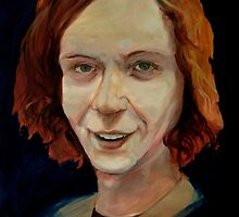 Gingerest Thing I've Painted Today: World Famous Artist, Lee Kratzer... by KillerNapkins