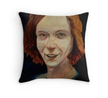 Gingerest Thing I've Painted Today: World Famous Artist, Lee Kratzer... Throw Pillow