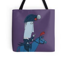 Napoleon and his Horse Tote Bag