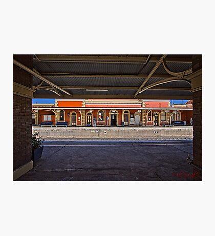 Train Station in Goulburn/NSW/Australia (11) Photographic Print