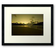 Cornish Gold Framed Print