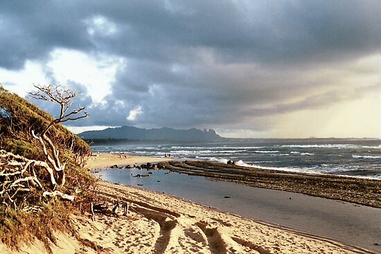 Beach Kauai, HI by rmenaker
