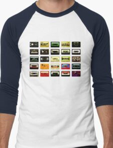 #Music Men's Baseball ¾ T-Shirt