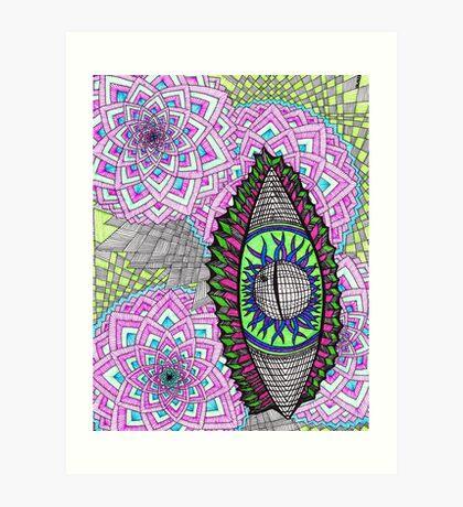 Eye Liner Art Print