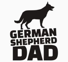 German shepherd Dad by Designzz