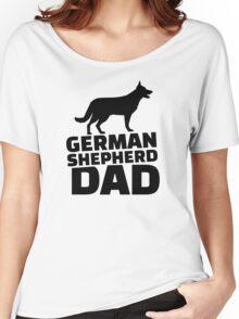 German shepherd Dad Women's Relaxed Fit T-Shirt