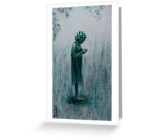 Reflection by Donna Williams Greeting Card