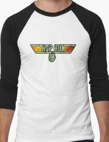 HOP GUN Men's Baseball ¾ T-Shirt