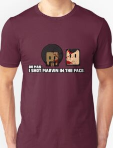 Toon Quote : Pulp Fiction - I Shot Marvin in the Face T-Shirt