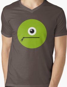GREEN MONSTER Mens V-Neck T-Shirt