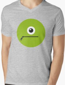 GREEN MONSTER Mens V-Neck T-Shirt