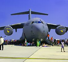 US Air Force C17  by AngelPhotozzz