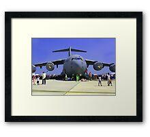 US Air Force C17  Framed Print