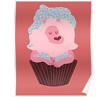 Cupcake Lion Poster