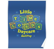 Little Time Lords Daycare Gallifrey Doctor Who Youth Tee Poster