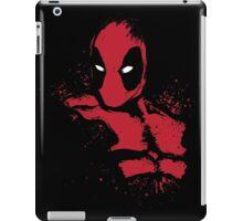 Merc in Red (black Tee) iPad Case/Skin